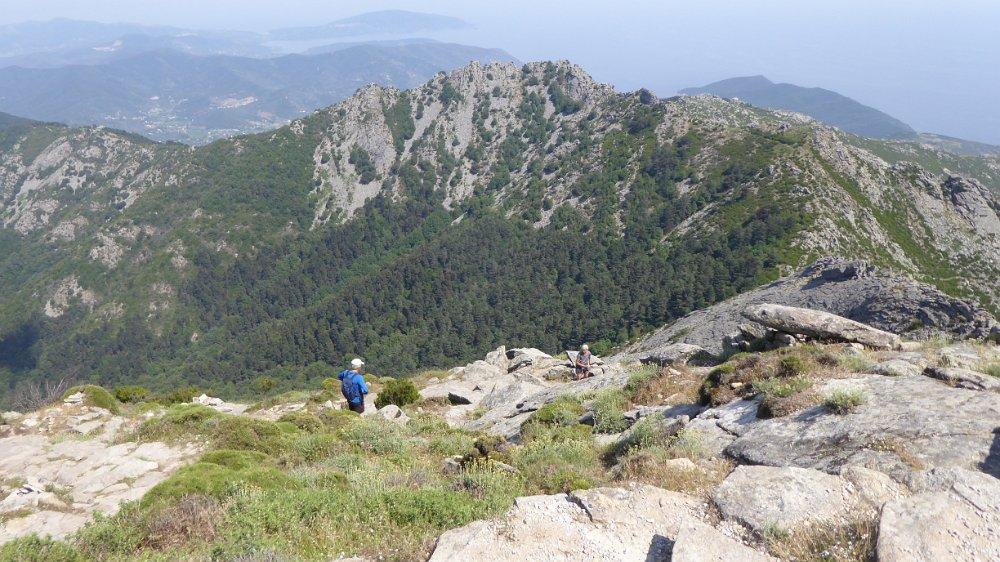 Monte Capanne uitzicht